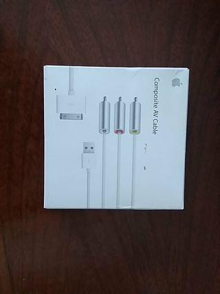 apple cable av ipad tele