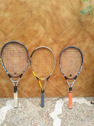 Raquetas de Tenis en buen estado