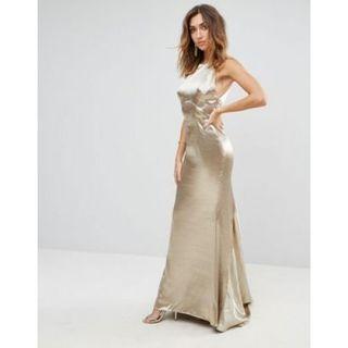 Fish tail Maxi Dress