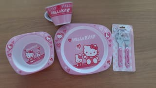 Vajilla infantil Hello Kitty