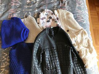 Lot de pulls et veste