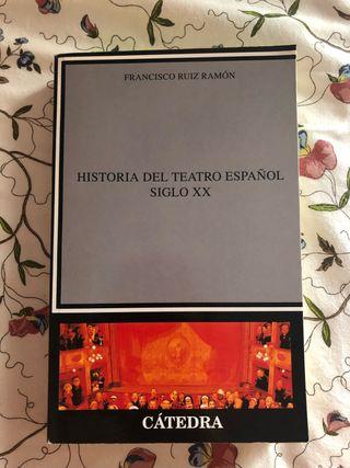 Historia del teatro español siglo XX. Ruiz Ramon