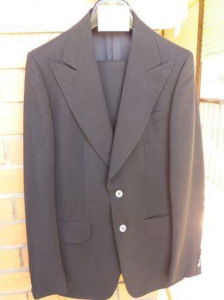 traje home color negre talla 38-40, Serra Claret