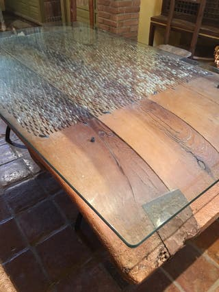Mesa trillo antigua. Vintage.rustico.antiguedades.