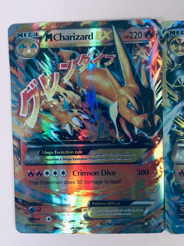 Charizard Dracaufeu Ex Holo Ultra rare Pokemon