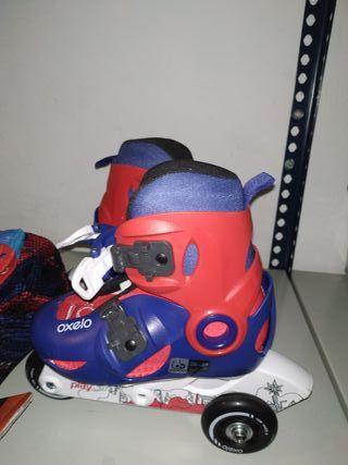patines de ruedas linea