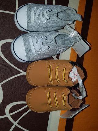 pack de 2 pares de zapatos de sfera para bebe
