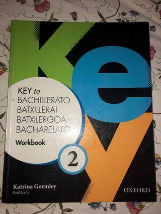 Libro inglés 2o bach. Key to bachillerato workbook