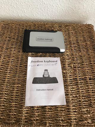 Teclado Bluetooth plegable