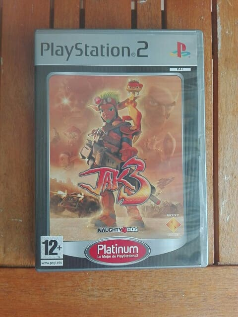 Caja juego Jak 3 ps2