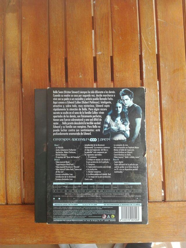 Película Crepúsculo DVD Ed. Limitada Twilighter