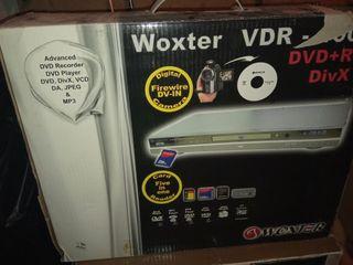 Reproductor/grabador DVD