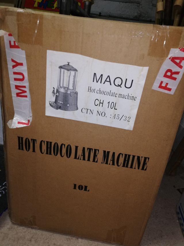 dispensador de chocolate 10 LITROS