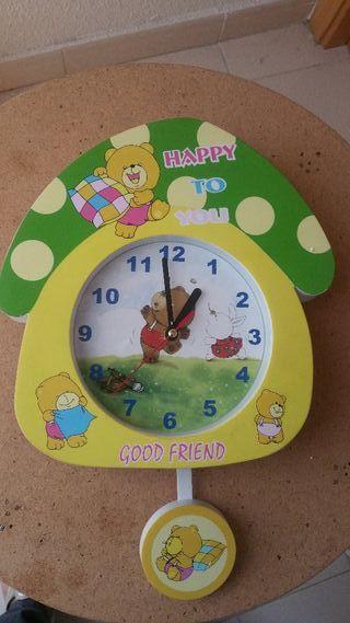 reloj infantil