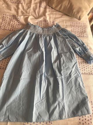 Vestido Zara cuello de barco