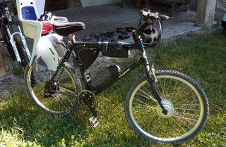 bicicleta eléctrica 2 motores