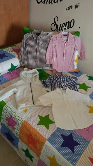 camisas bebes