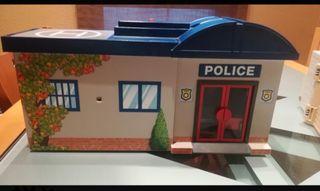 Maletin policía Playmobil