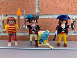 Playmobil trio de piratas