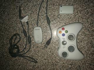 Mando Xbox 360 inalámbrico+ receptor y cable
