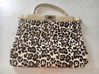 Bolso grande leopardo