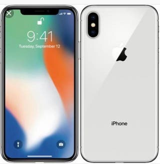iPhone X blanco 256 gigas