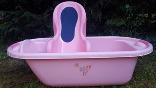 Bañera, asiento baño, cambiador,termómetro y más