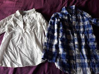 Lote de dos camisas niña.