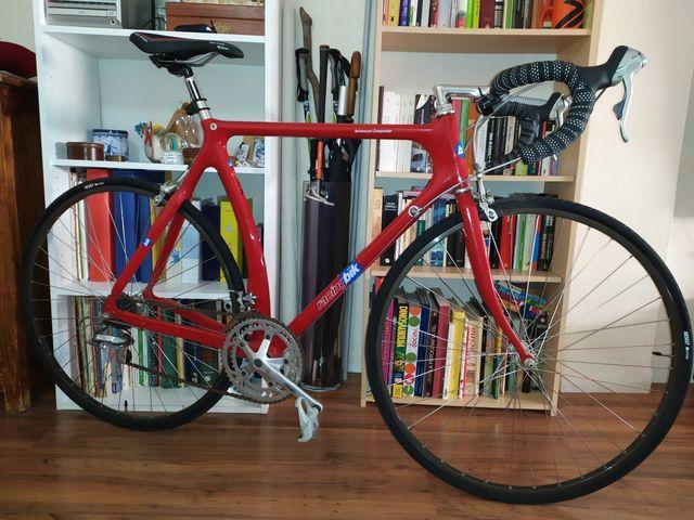 Cambio Bicicleta de carretera clasica