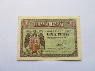 1 peseta 1938 EBC-
