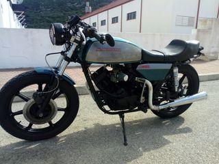 moto classica cafe racer 350
