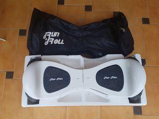 Hoverboard Run & Roll Blanco Smart Go Monster