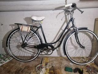 bicicleta antigua varilla
