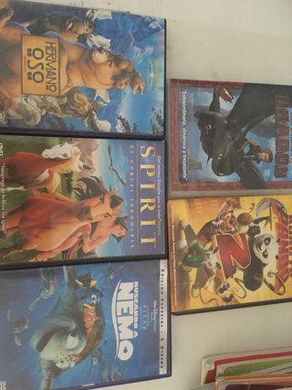 5 películas DVD por 5€