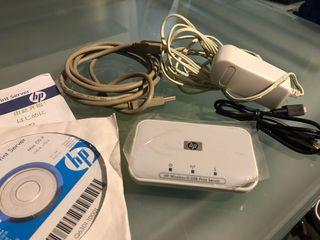 Servidor de impresión HP 2101 Wireless G USB