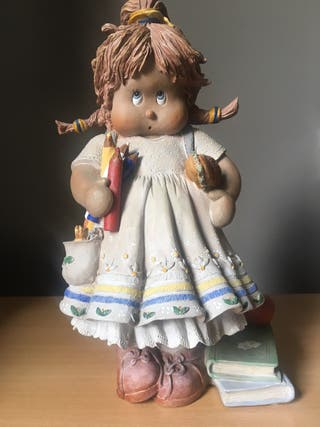 CUQUI ( Al cole) figura decorativa