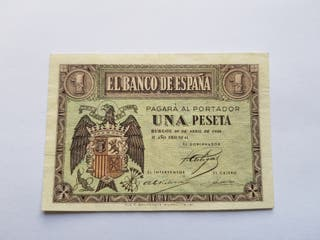 1 peseta 1938