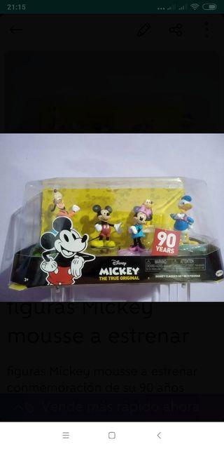 figuras Mickey mousse a estrenar originales