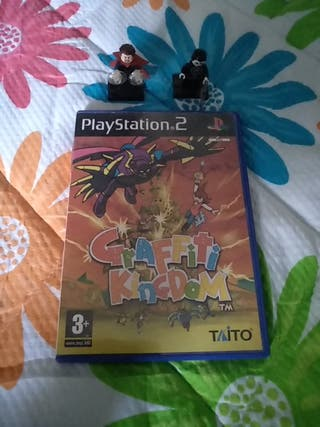 Graffiti Kingdom PS2