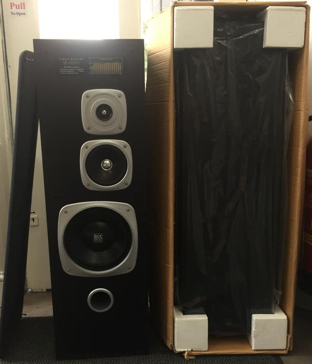 BSS Dual Stereo Speakers