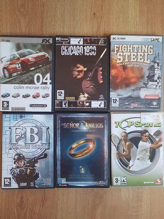 Juegos videojuegos vintage de PC ordenador