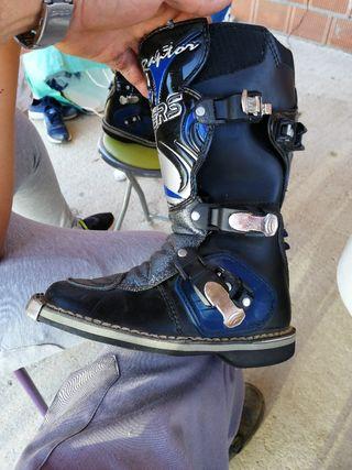 botas de motocros para niños
