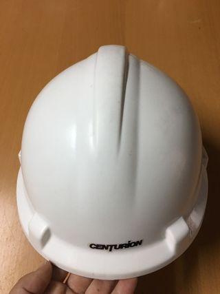 Casco de obra blanco CENTURIÓN