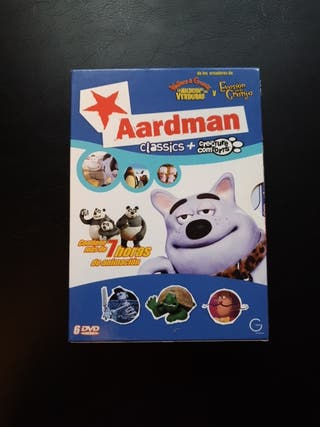 DVD Aardman Classics Creature Comforts