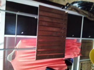 Mesa abatible IKEA para riel del balcon, demostabl