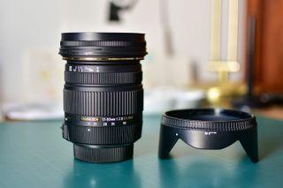Sigma 17-55 f-2.8 para Nikon