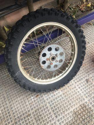 Montesa enduro rueda trasera
