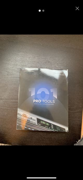 ProTools 8 101 book with CD