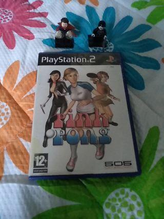 Pink Pong PS2