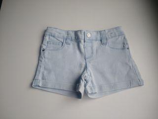 Pantalón corto vaquero niña 3-4 años
